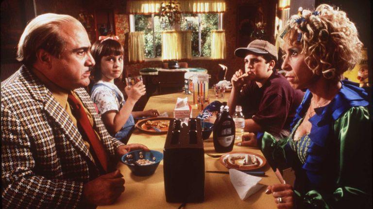 The cast of Matilda on set