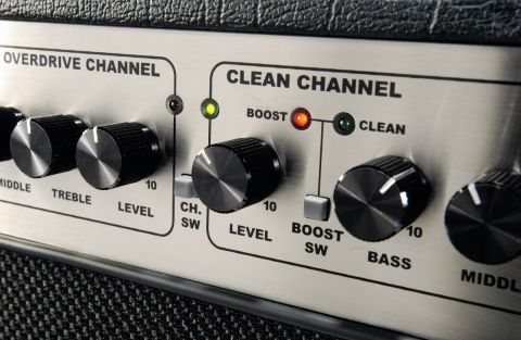 The 50T's clean channel has a great chime effect when pushed hard.