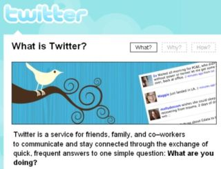 Twitter downed by DDoS