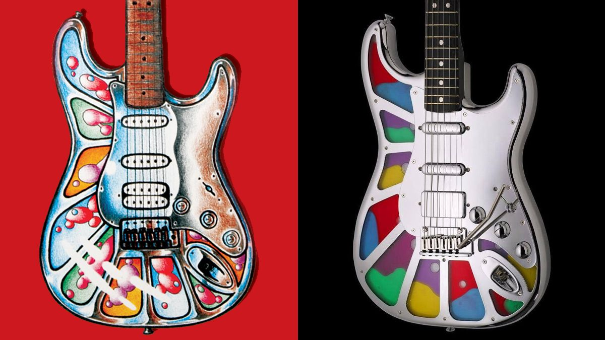 The story of the Fender Splatocaster, the surreal Custom Shop creation born from a Guitar World competition