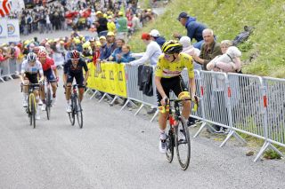Tadej Pogačar launched multiple attacks on Col du Portet to win stage 17