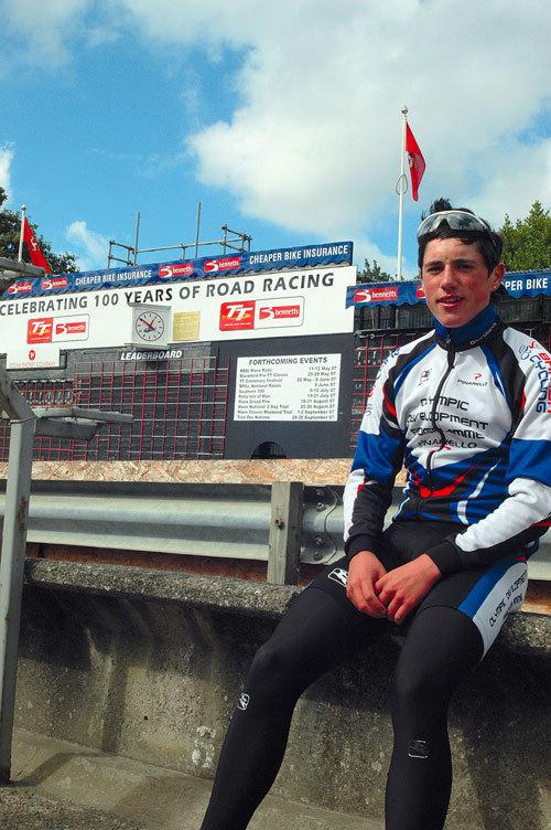 Peter Kennaugh Isle of Man ride