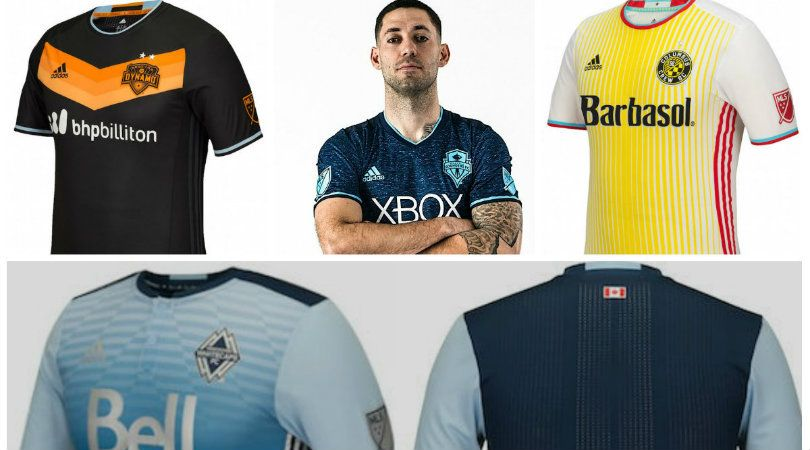 2016 mls kits the good the bad the columbus fourfourtwo 2016 mls kits the good the bad the