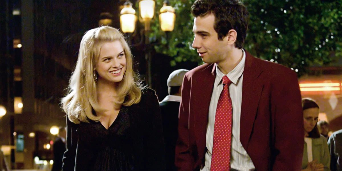 Alice Eve and Jay Baruchel in She's Out of My League