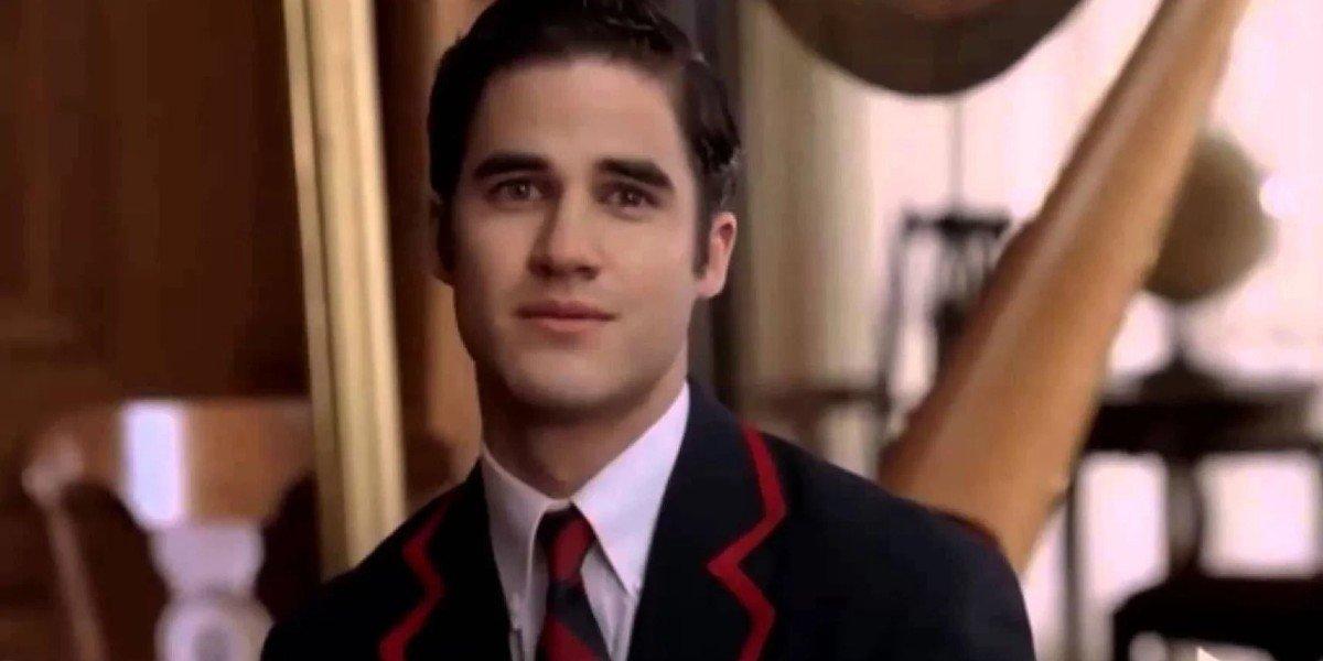 Darren Criss as Blaine in Glee