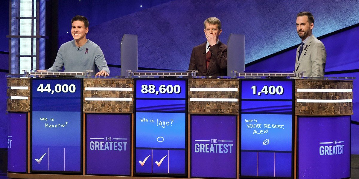 Screenshot from Jeopardy: The Greatest of All-Time