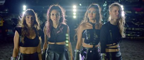 The girls fight back in 'Spare Parts.'