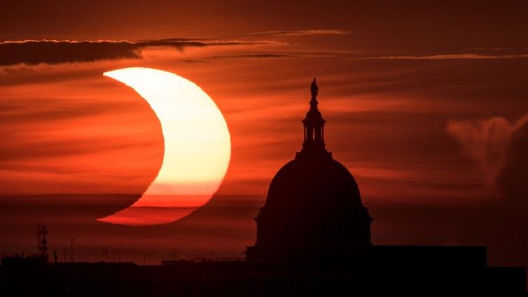 Ring of fire' solar eclipse 2021 in photos: See amazing views from stargazers