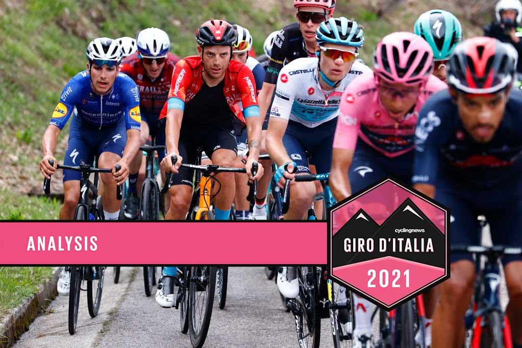 Egan Bernal leads the Giro d'Italia group of favourites