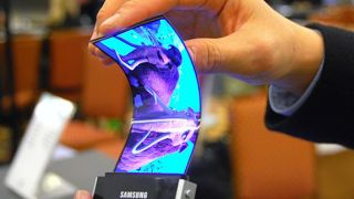 Foldable Samsung display
