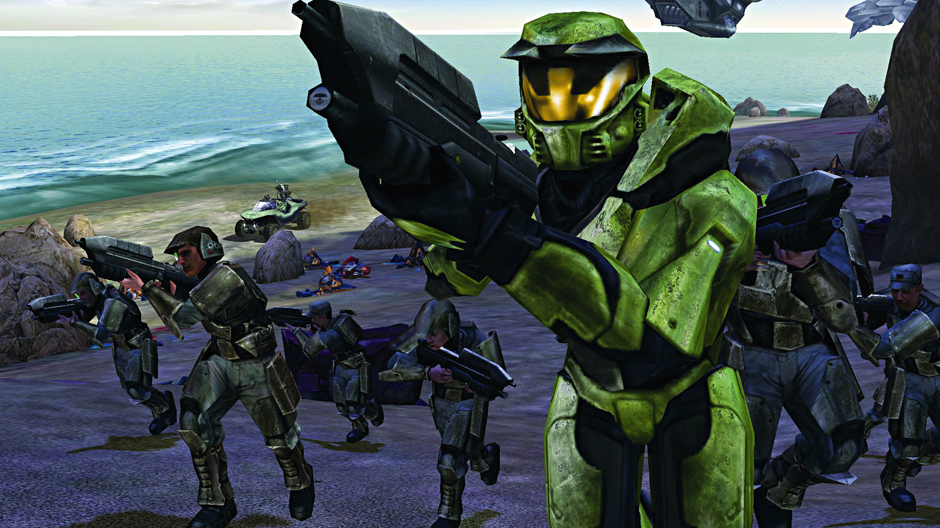 How the original Halo was nearly a very different game | GamesRadar+
