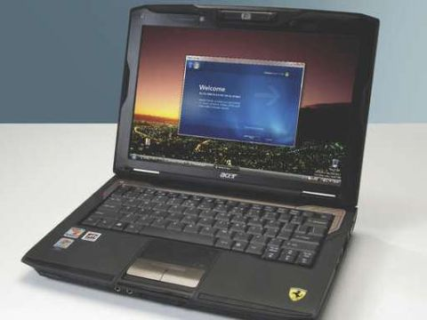 ACER FERRARI 1000 NOTEBOOK AMD CPU 64 BIT