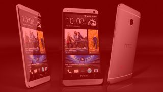HTC One briefly appears for sale in fetching red