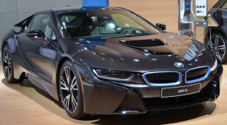 BMW i8 electric supercar