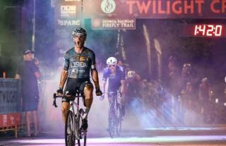 Tyler Williams (L39ION of Los Angeles) wins Athens Twilight Criterium