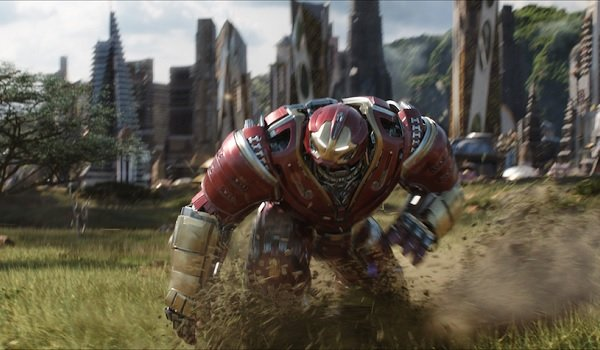 Avengers: Infinity War The Hulkbuster runs out of Wakanda