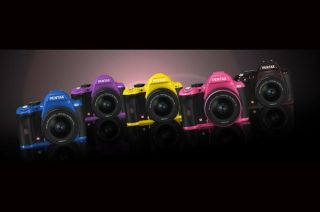 Pentax K r DSLR to come in 5 new colours