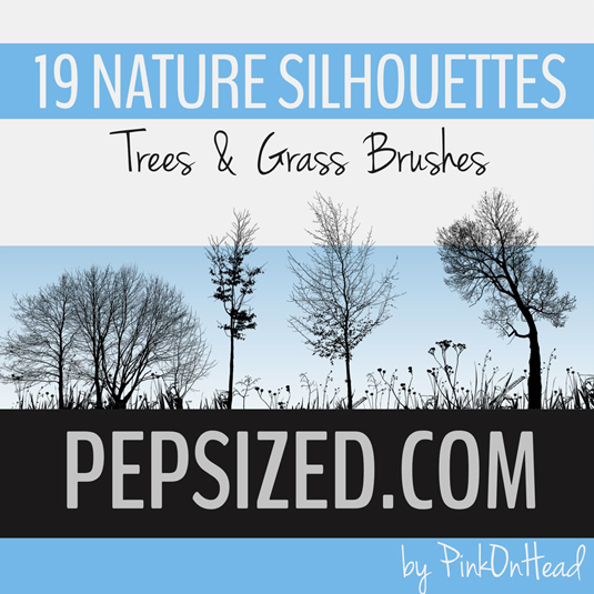 free Photoshop brushes: nature