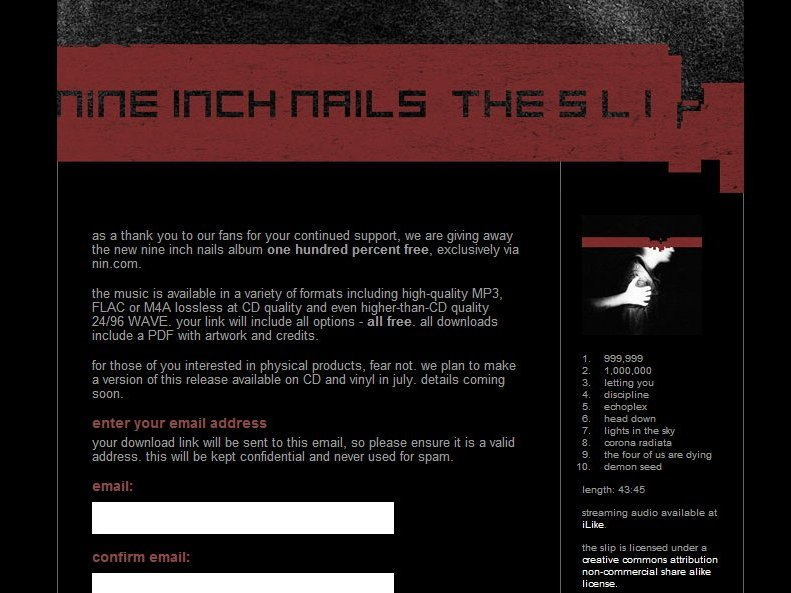 Nine Inch Nails album free to download | TechRadar