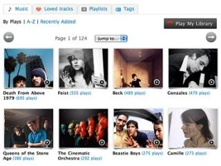 Last.fm now has a library option