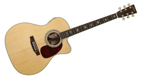 This Style 40 jumbo cutaway apes the first of Martin jumbos that appeared in 1985