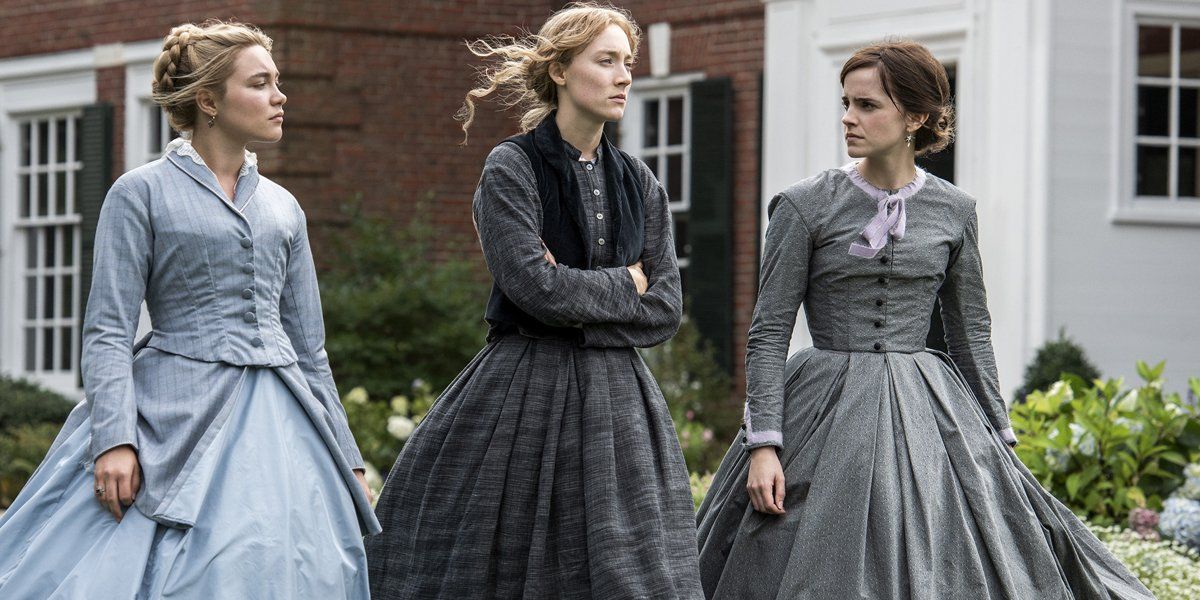 Little Women Florence Pugh Saoirse Ronan Emma Watson