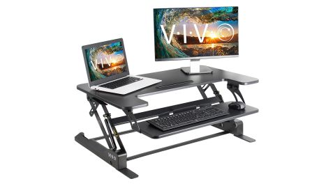 Vivo Standing Height Adjustable Desk Converter review