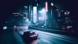 Night City at... night