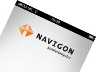 Navigon on iPhone