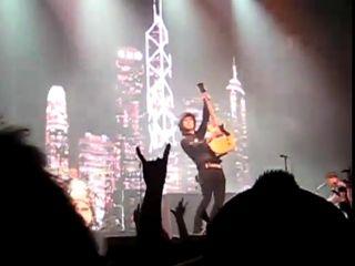 """Simon says, """"Pose like a rock star!"""""""