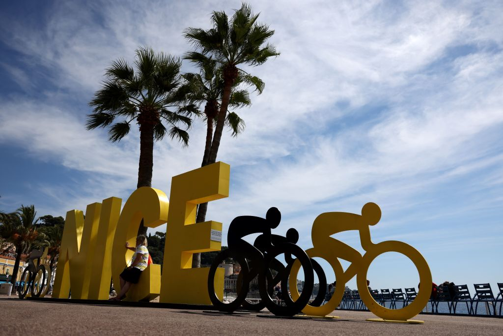 Nice is ready for the start of the 2020 Tour de France