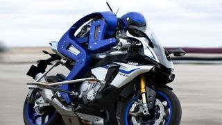 Yamaha's 'Motobot' can autonomously drive a motorcycle