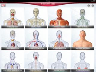 Fantastic Interactive App Teaches Human Anatomy