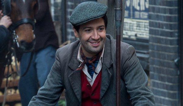 Lin-Manuel Miranda as Jack the Lamplighter in Mary Poppins Returns