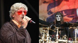 Fred Durst of Limp Bizkit and Slipknot's Joey Jordison