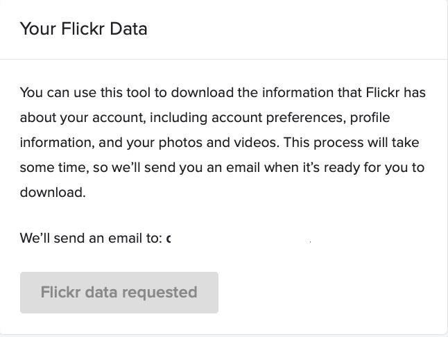 How to Download Your Photos From Flickr Before They