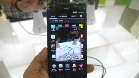Hands on: Acer Liquid S1 review
