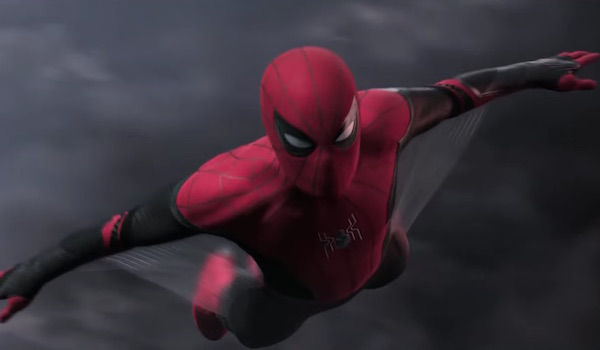 Spider-Man: Far From Home gliding