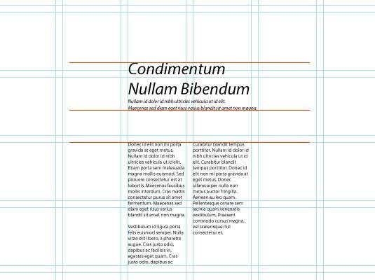 Create balanced layouts 4