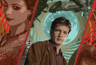 The Firefly-Artbook from Titan Books showcases amazing art of the beloved science fiction franchise.