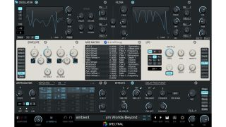 Spectral follows in the footsteps of Albino 3 which LinPlug produced with Rob Papen