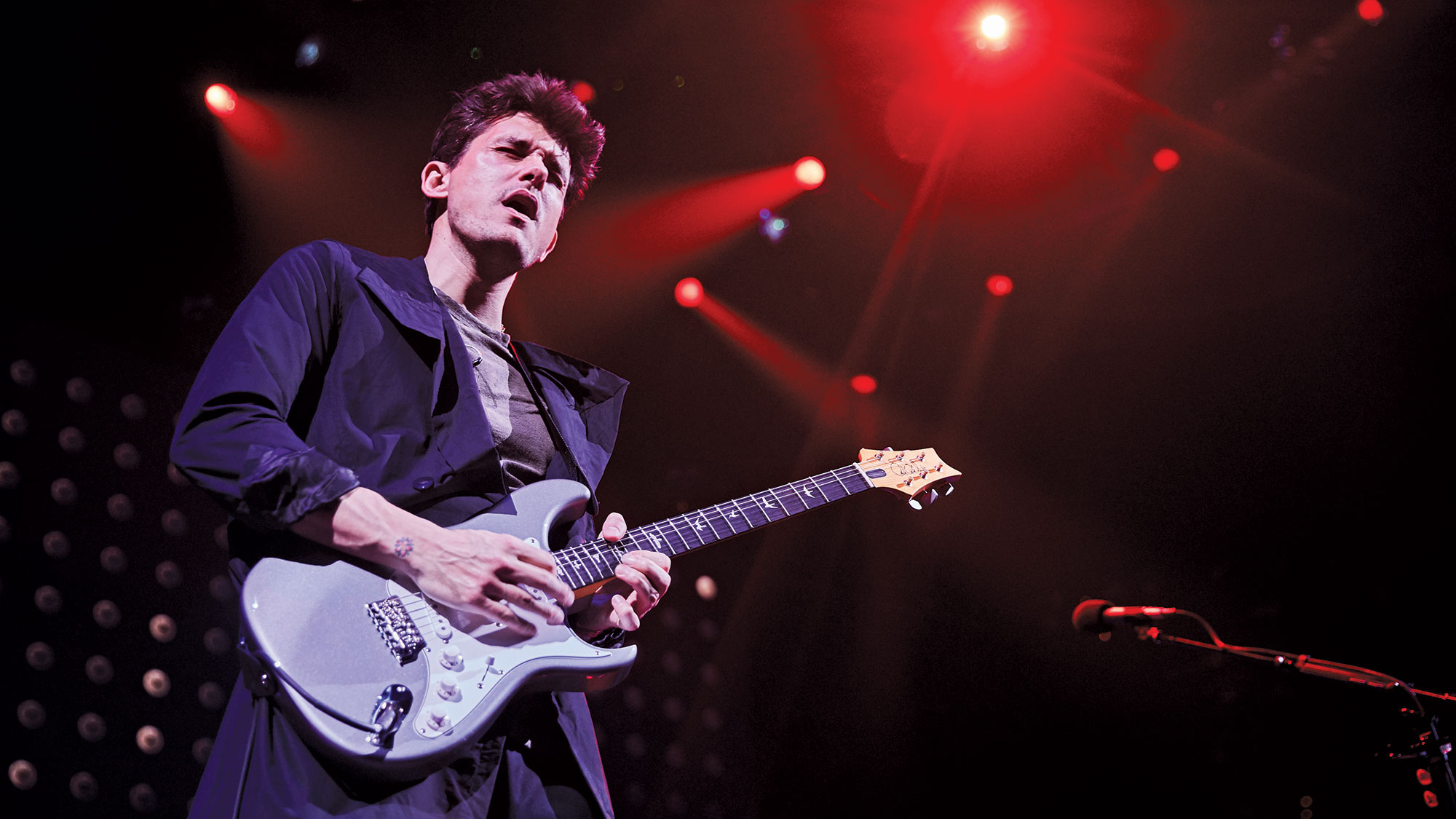John Mayer Explains The Heat Around His Cool New Prs Silver Sky
