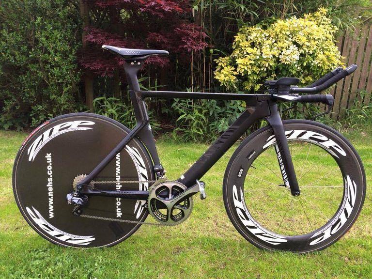 Shaun Tyson's Canyon Speedmax CF Time-Trial