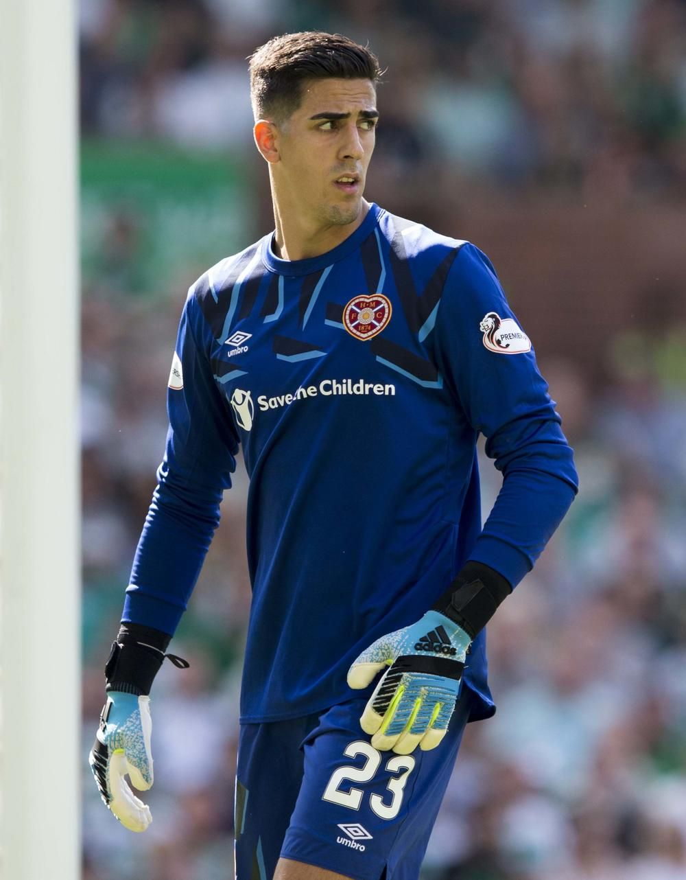 Hearts Goalkeeper Joel Pereira Likely To Be Taken Out Of