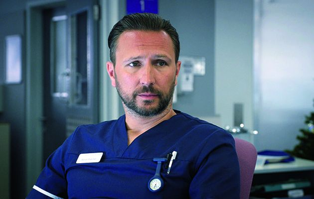 This week in Holby City, Fletch is put out this week when Nurse Summers starts on the ward.
