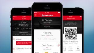 Qantas iOS app