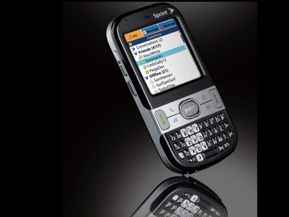 official new palm treo arrives next week techradar rh techradar com Palm Treo Celular Palm Centro