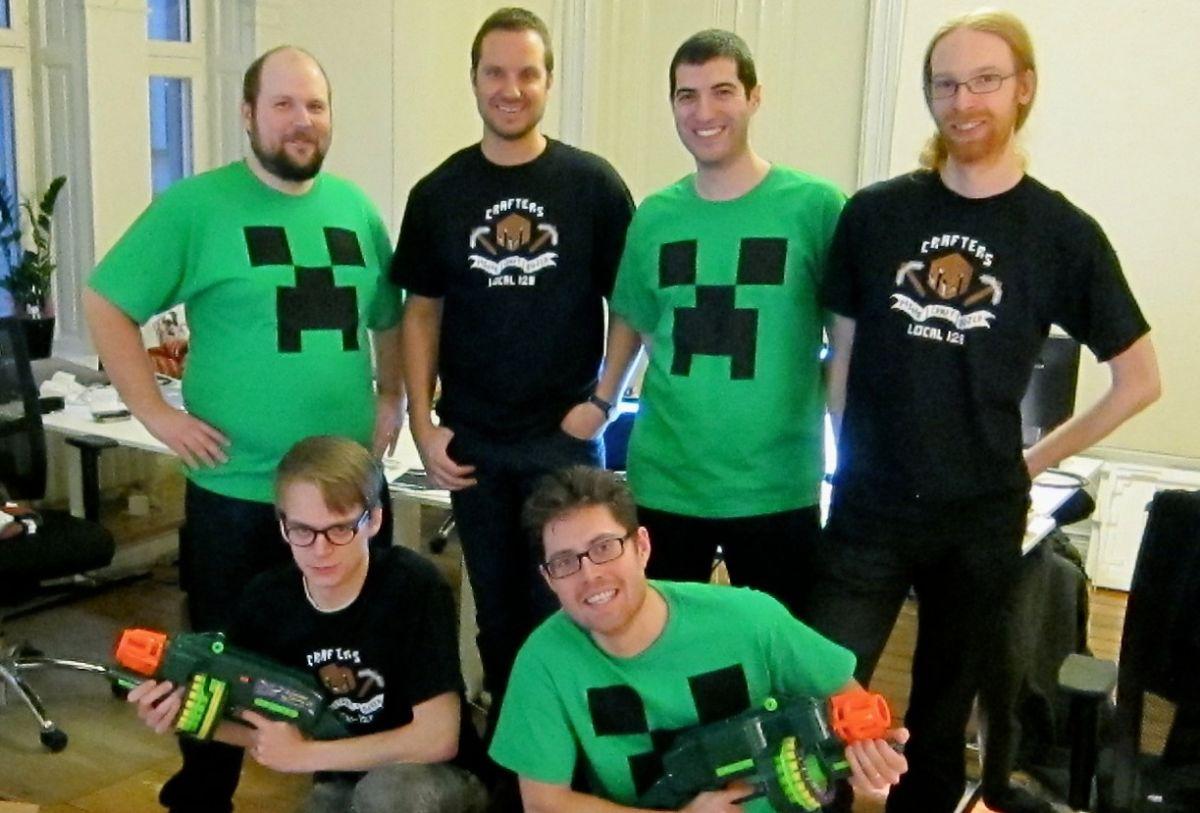 Minecraft Dev Diary - Mojang milestone, office overhaul ...