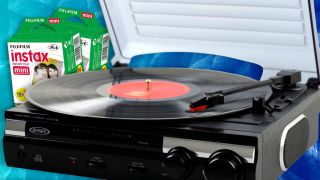 Record players and instant film made Amazon's best-selling list
