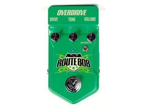 The Route 808 Overdrive pedal.